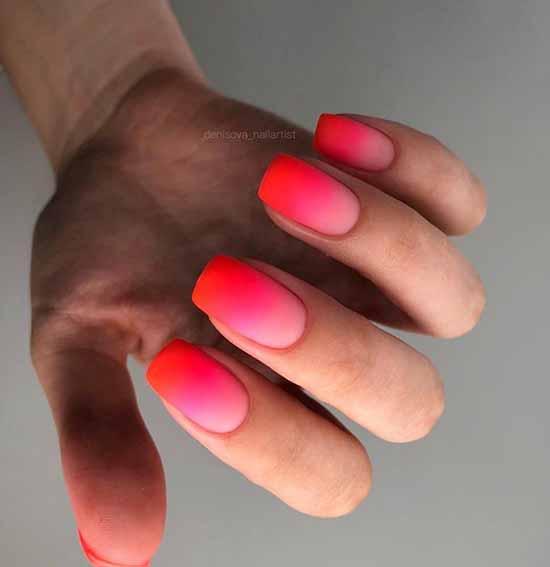Beautiful matte nails: design, new manicure in the photo