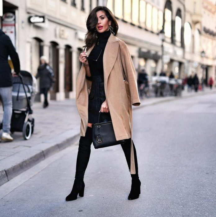 photos of fashionable coats, coat trends, new items