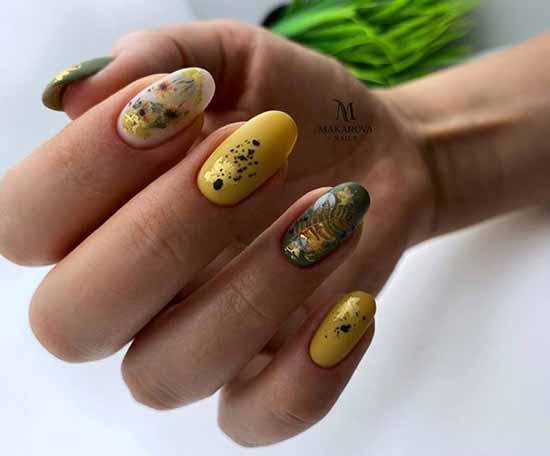 Foil Manicure Ideas
