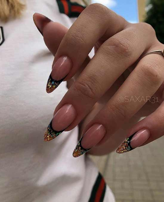 Extension with sequins