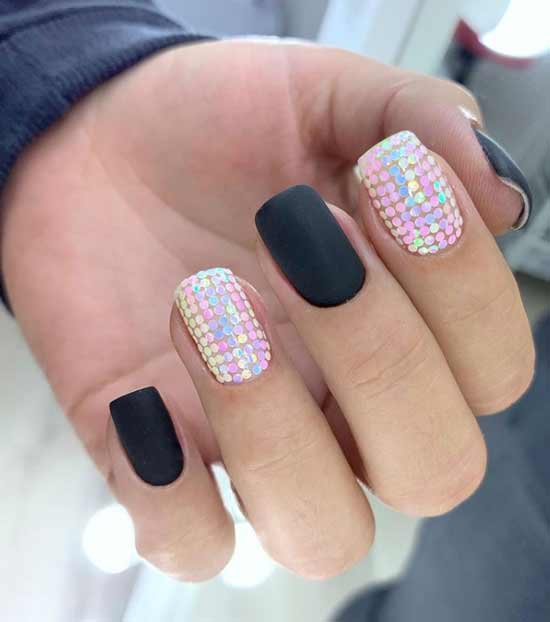 Glitter Disco Nails