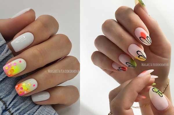 Дизайн ногтей осень тренды