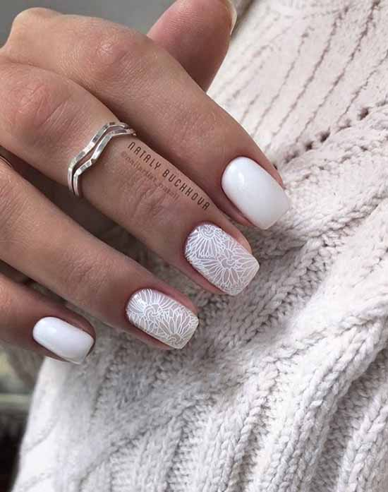 Manicure for tanned hands: 100 photos, new items, stylish design