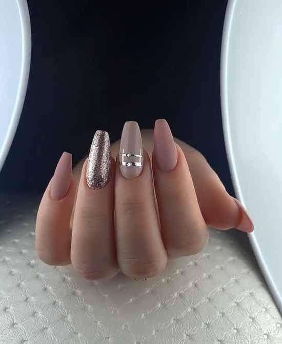 Ballerina / pointe shoes manicure ideas: new, design 2021