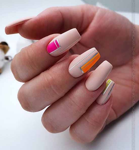 Ballerina / pointe shoes manicure ideas: new, design 2021
