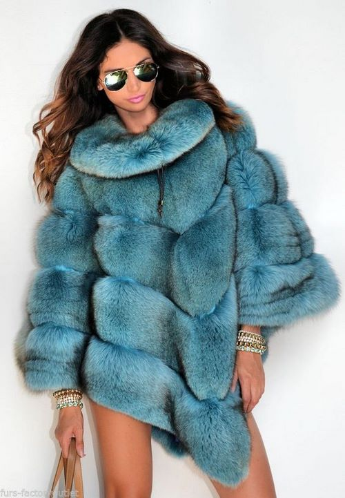 Good style!  Fashionable fur vests.  Photos, news, ideas, what to wear