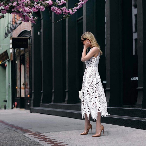 The main trends of spring fashion.  Photo ideas for the best spring looks