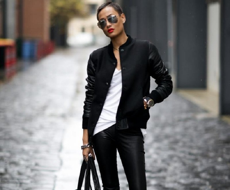 Mega stylish bombers.  What to wear bombers with.  Styles.  Images