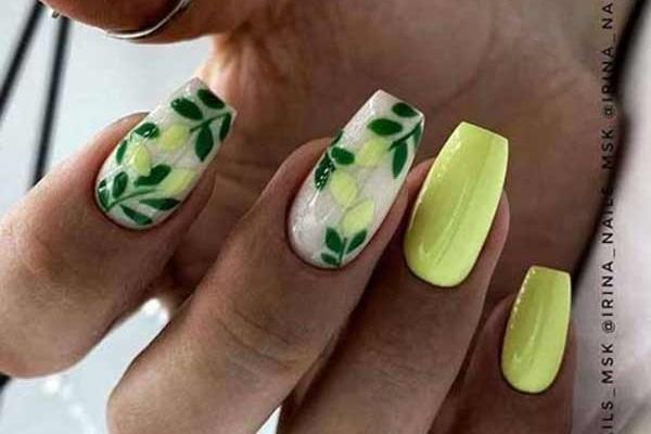 Ногти балерина дизайн фото