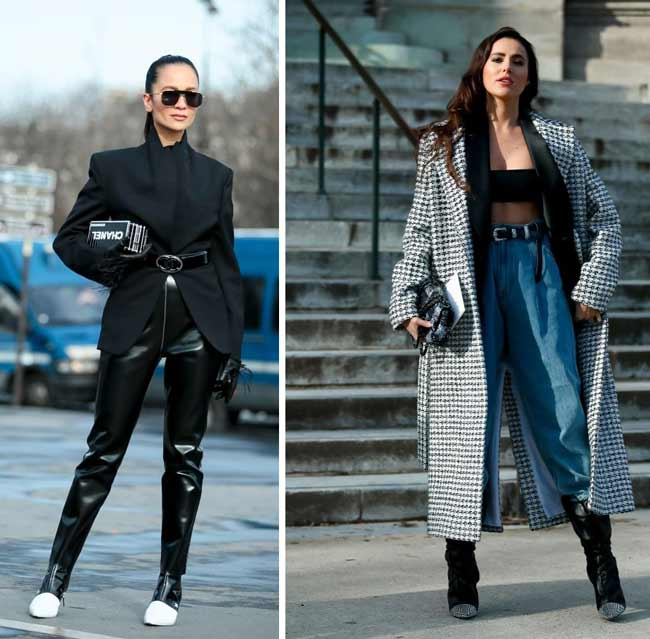With what and how to wear a belt