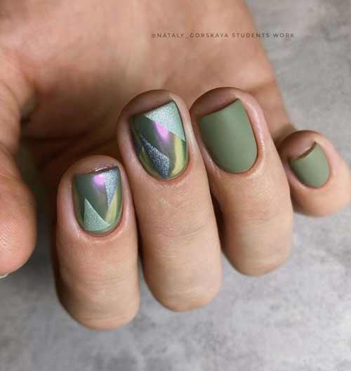 Green manicure trend 2021