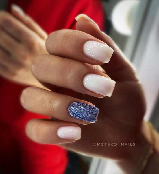 Accent on one nail trend