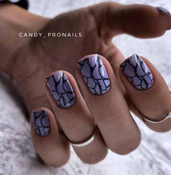 Trendy manicure photo