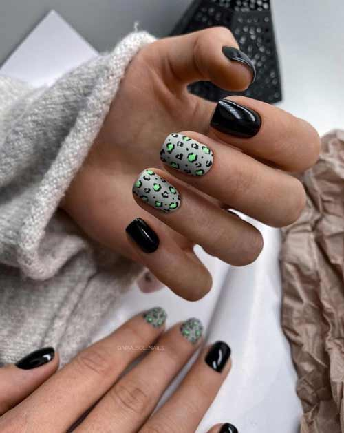 Short nails design