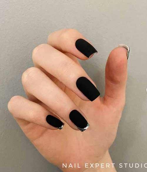 Black matte french