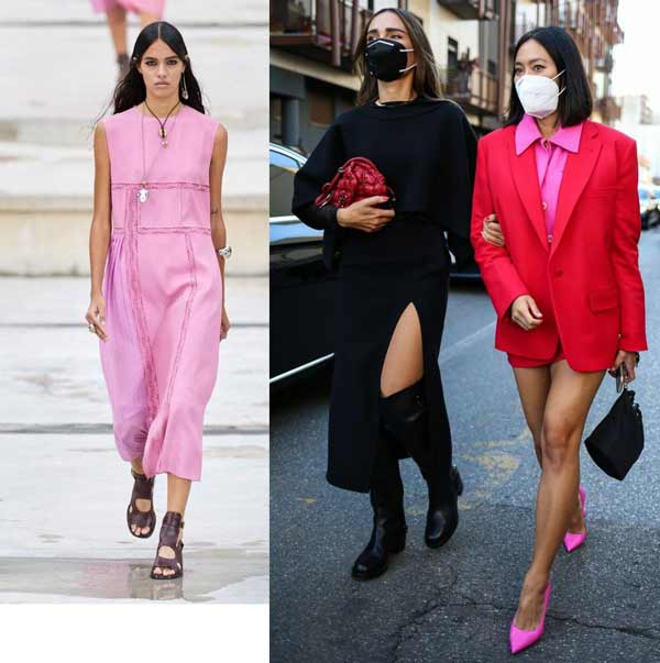 Trend pink total bow