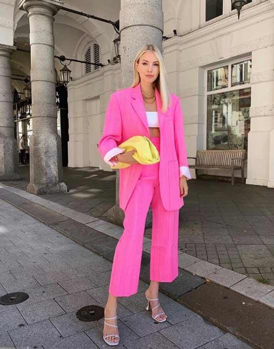Trendy pink spring-summer 2021
