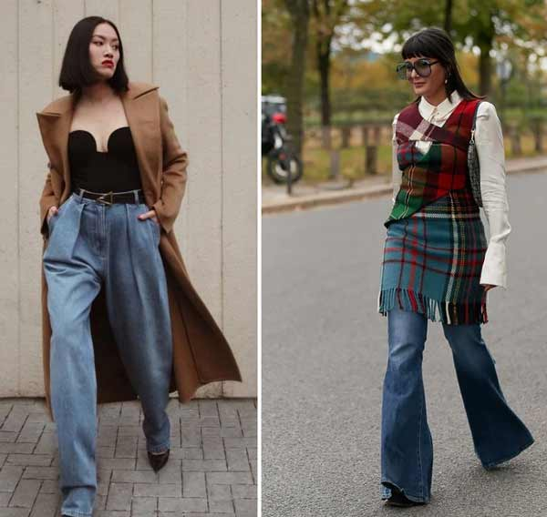 Fashionable jeans spring-summer