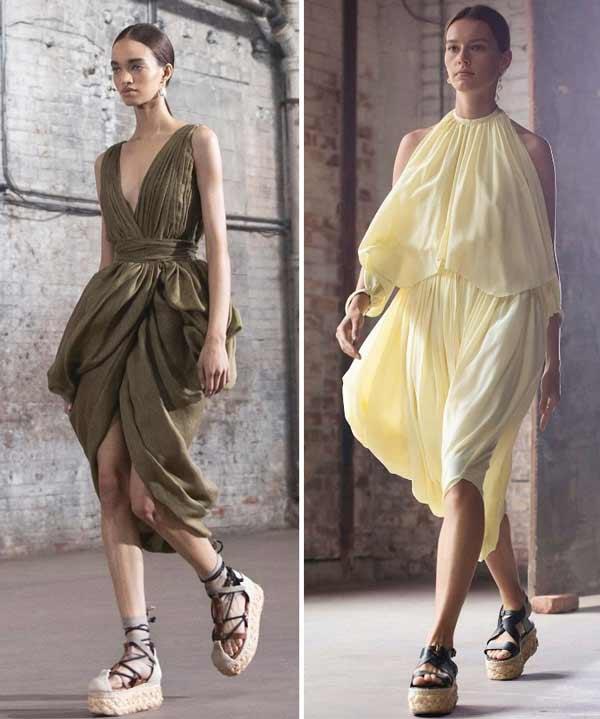 Summer dresses spring-summer 2021