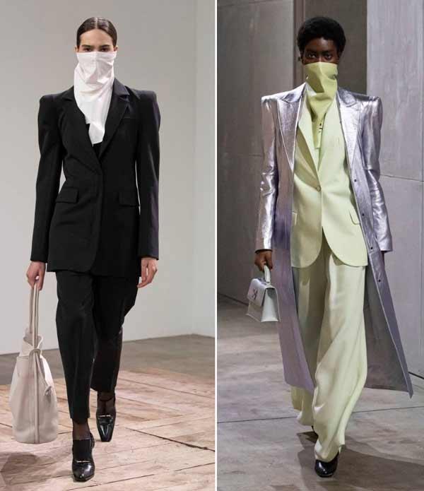 Fashionable headscarves masks