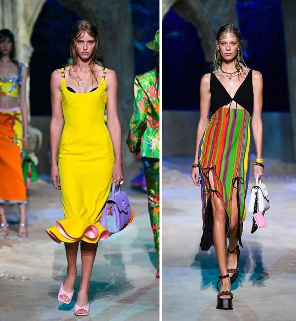 Fashionable dresses spring-summer