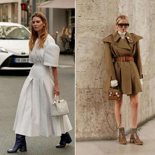 Bulky sleeves and shoulders - trends for spring-summer 2021