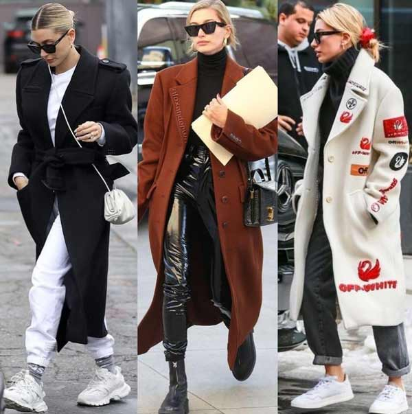 Fashionable sport chic style