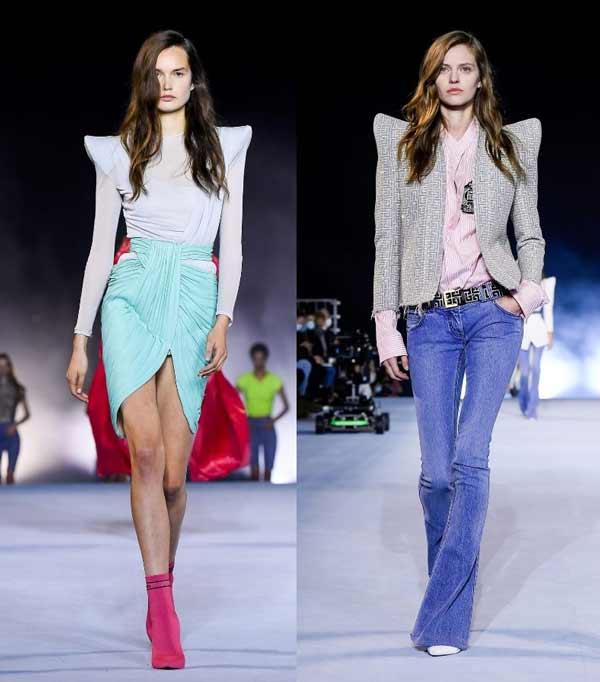 Balmain Spring / Summer 2021 Fashion Looks