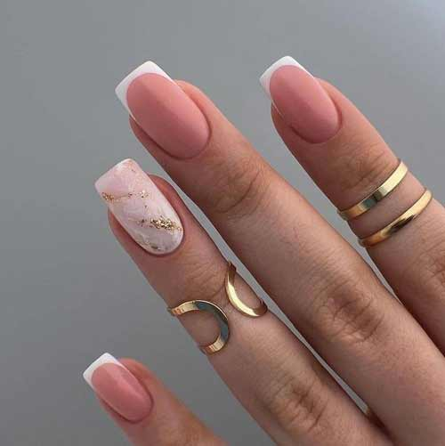 French and marble