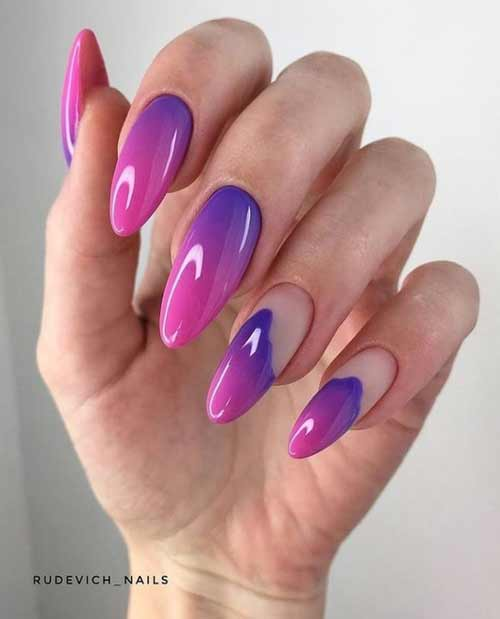 Fashionable manicure spring