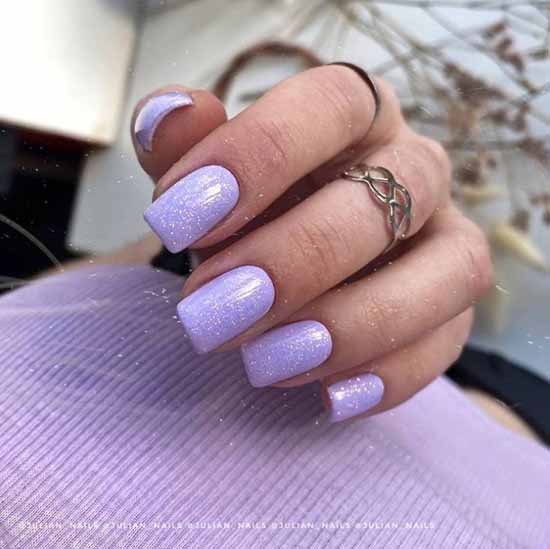 Spring trendy manicure