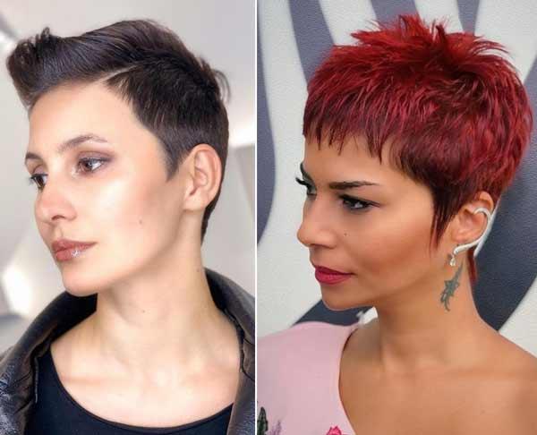 Trendy ultra-short haircuts spring-summer