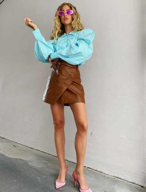 Fashionable short skirt