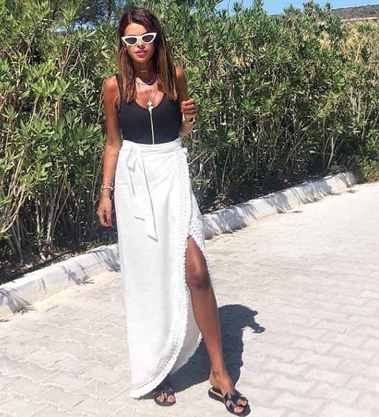 Long skirt summer