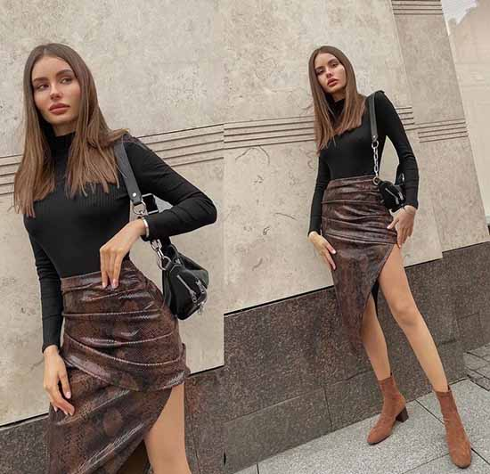 Fashionable skirts photos