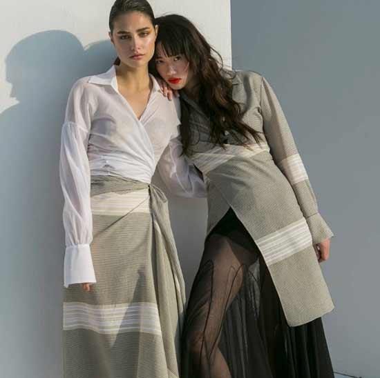 Fashion transparent skirts