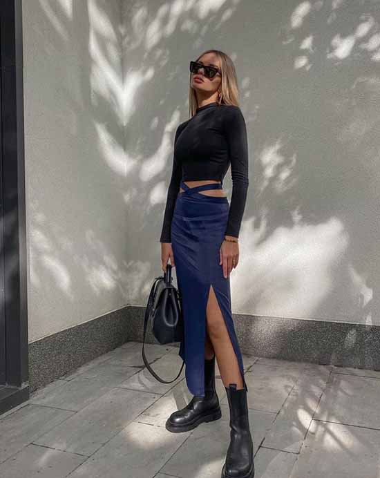 Fashion skirts slit