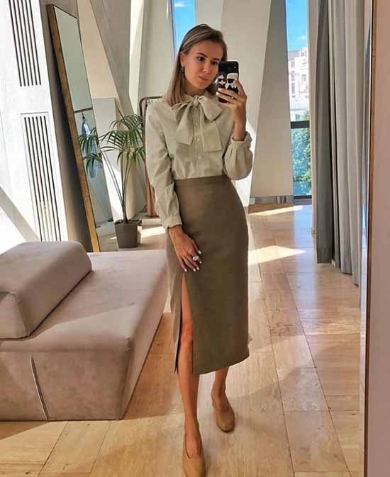 Fashionable skirts spring-summer 2021: what to wear, photos, images