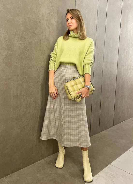 Images with fashionable skirts