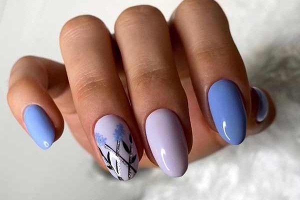 Pastel manicure photo, design, fashionable shades