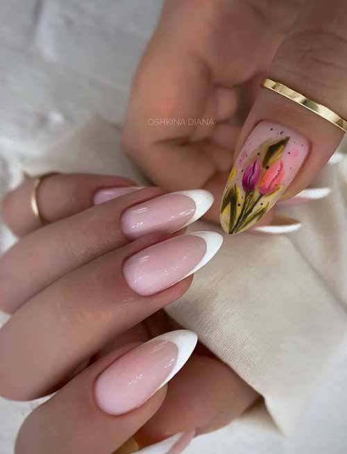 Tulips on nails