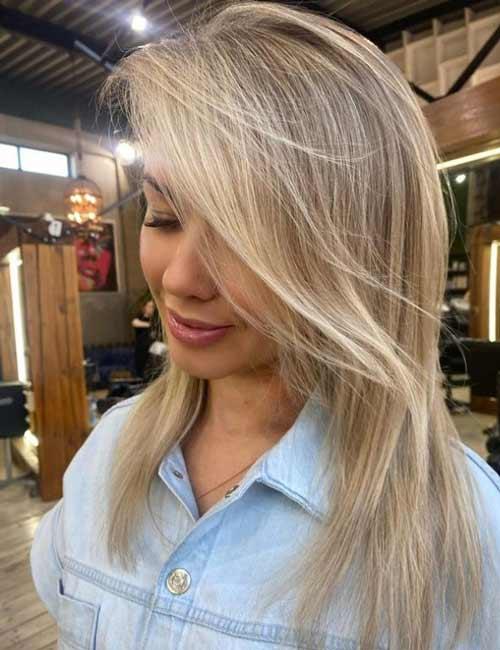 Asymmetry long haircut
