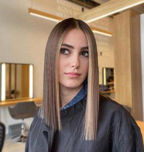 Hair of one length