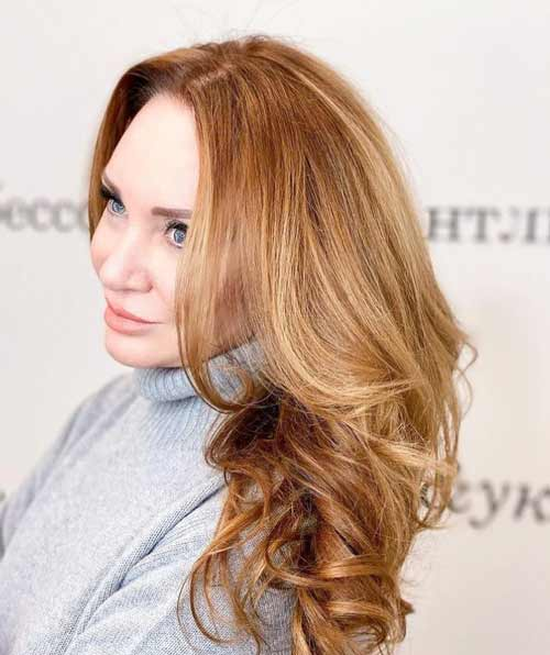 Women's long haircuts