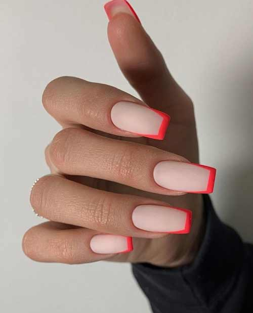 Summer nail design photo french