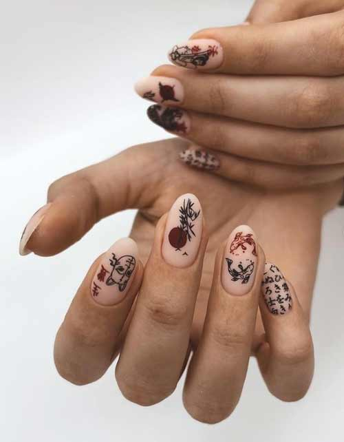 Long nails stamping