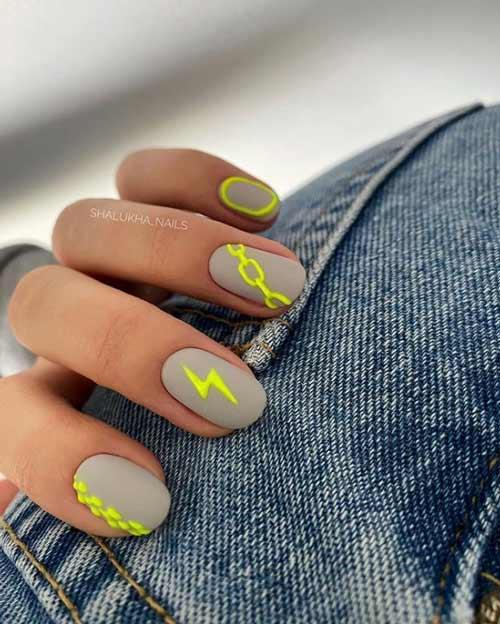 Summer nail design photo novelties