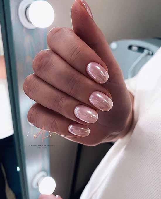 Rub-in manicure
