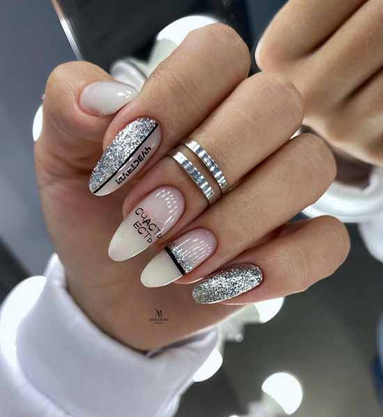 Liquid Foil Manicure