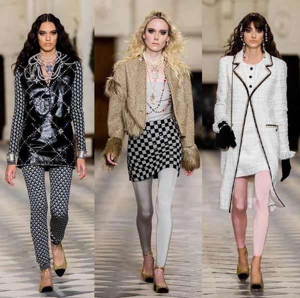 Looks with leggings from Chanel